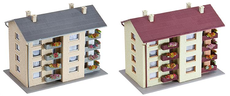 Faller 232304 N Scale Apartment Buildings (2)